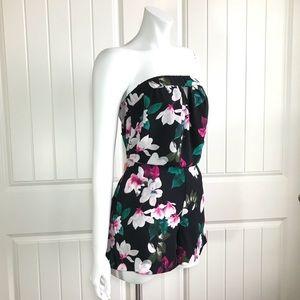 291d4a42c8d State Pants - 1. State Floral Romper Rich Black Romper Jumpsuits